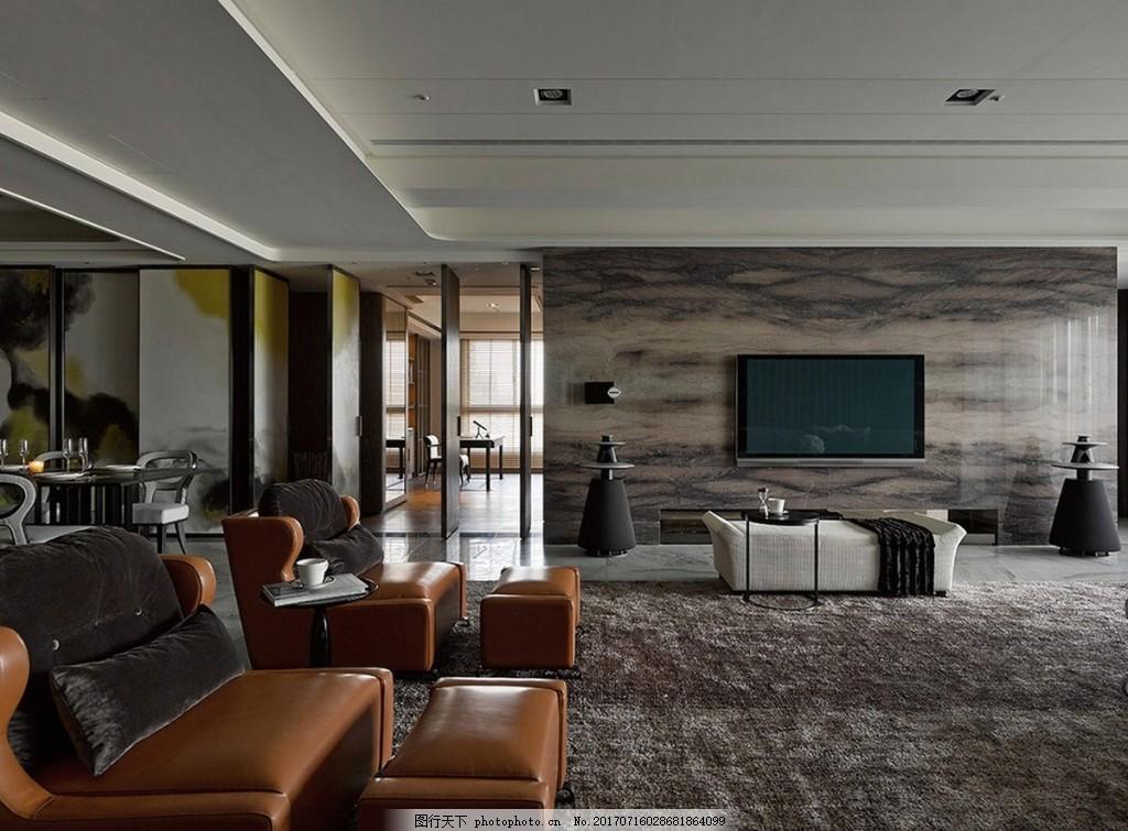 简欧式客厅背景墙效果图 室内设计 家装效果图 jpg 现代装修 背景墙