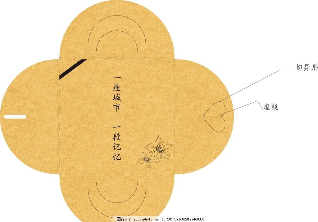 明信片包装 牛皮纸 城市记忆 个性 攀枝花