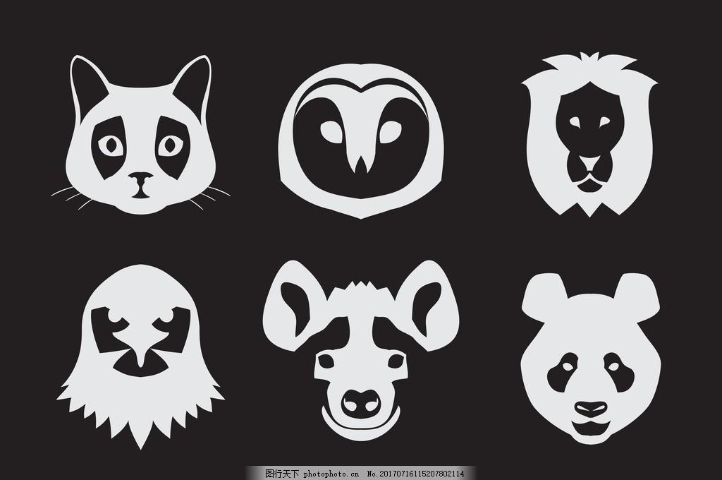 狗熊 野生动物 卡通动物 动物世界 马 松鼠 兔子 可爱 小猫