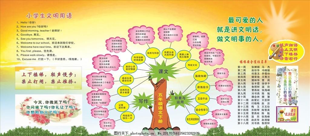 五年级语文知识树