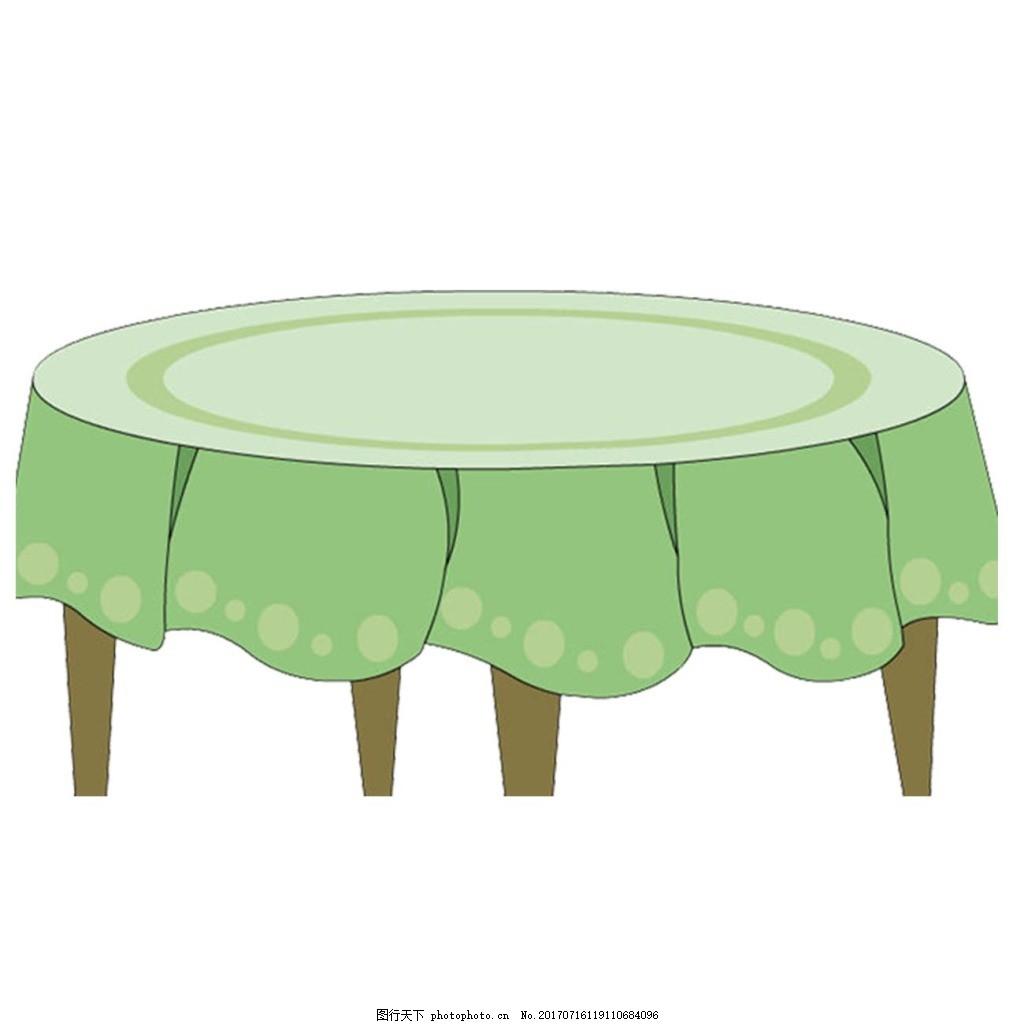 简约桌椅手绘三视图