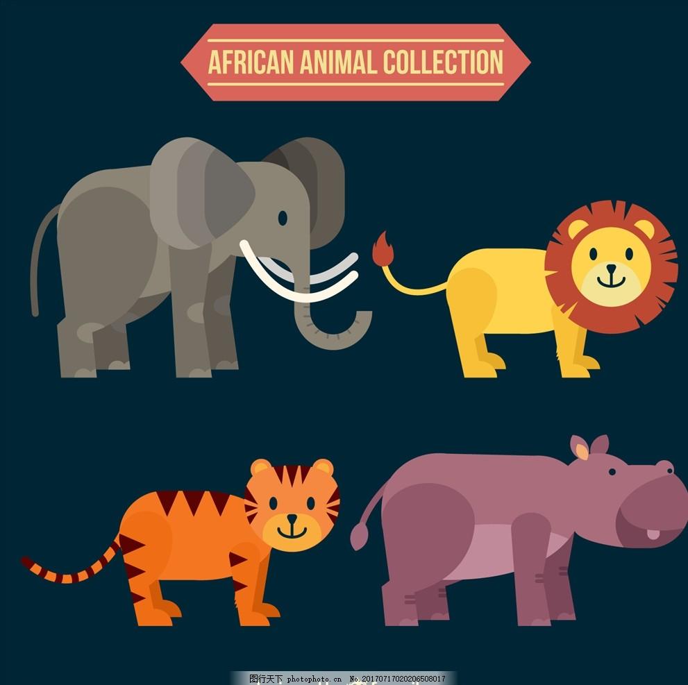 动物矢量 动物图片 动物世界 线描动物 动物素描 动物线描 手绘动物