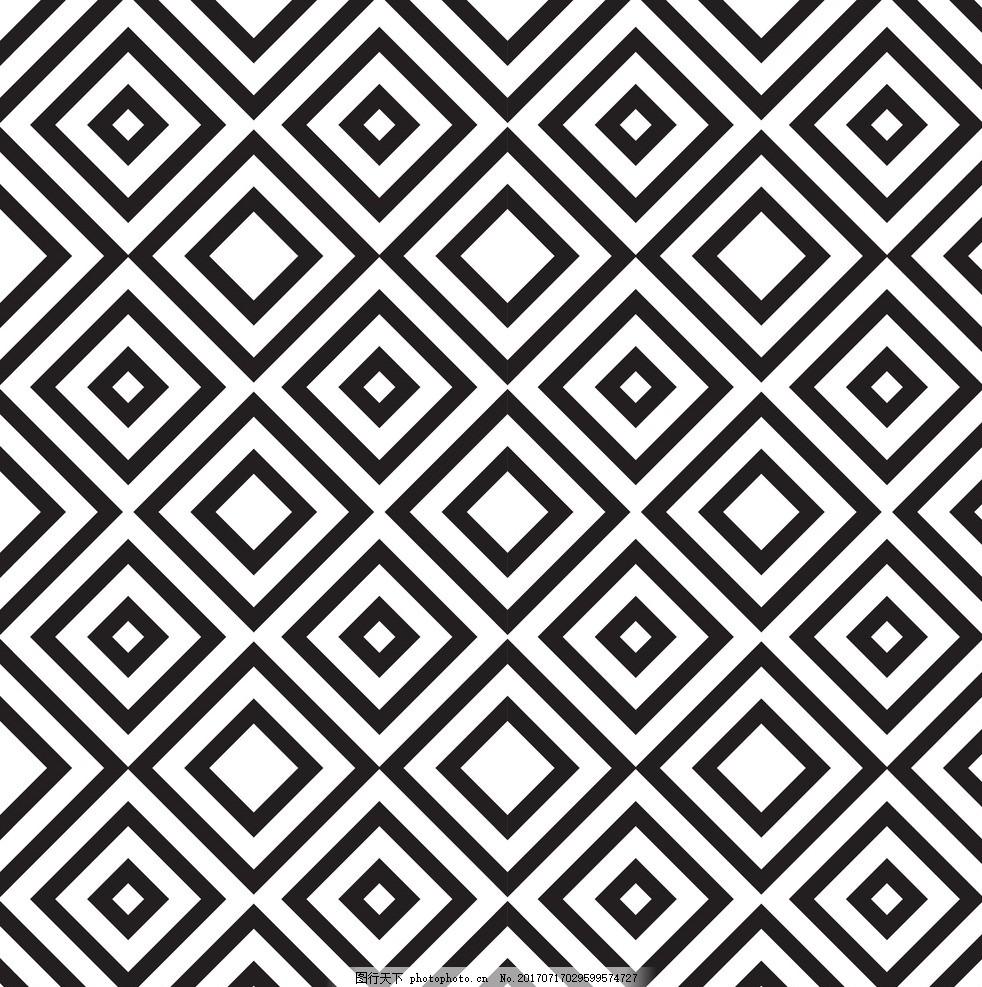 二方连续 单独 四方连续 底纹 花纹 边框 抽象底纹 底纹边框 设计