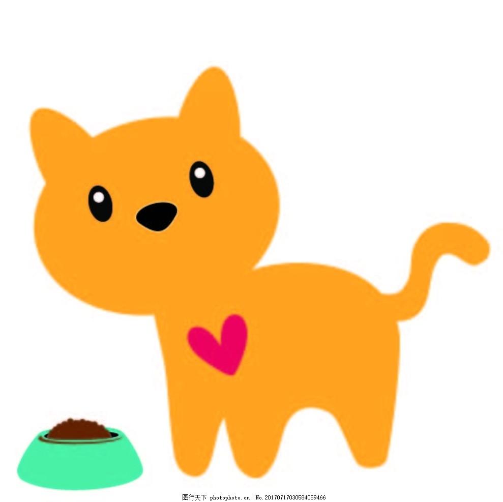 猫的画画步骤图片大全