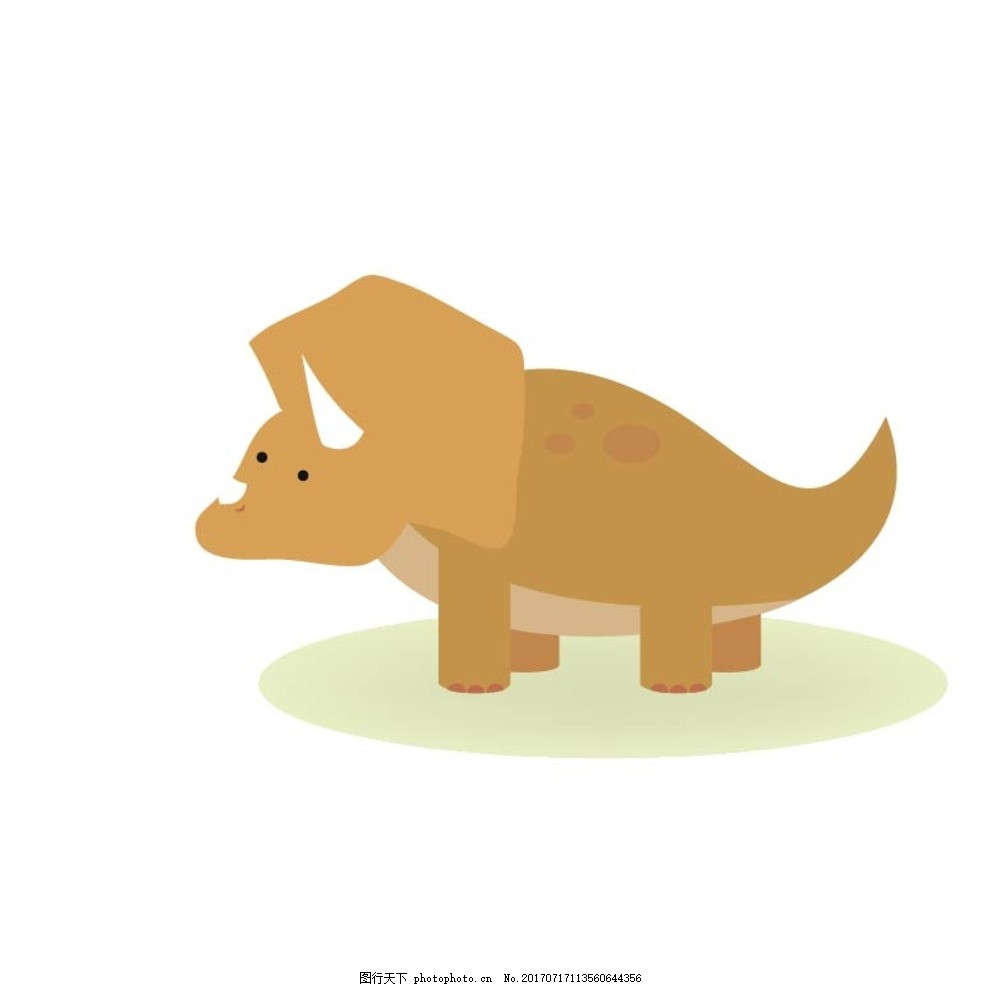q版可爱恐龙头像