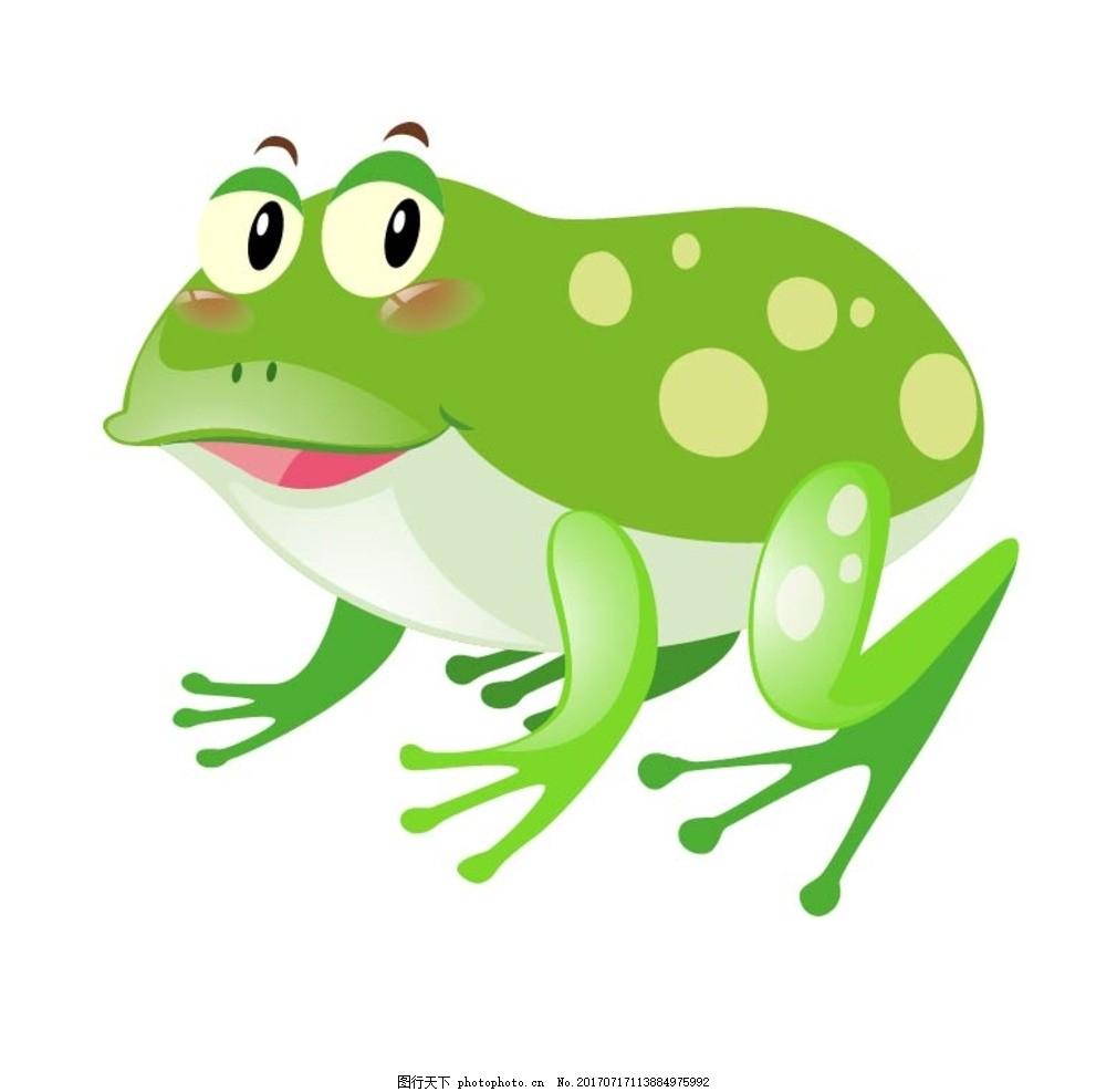 卡通青蛙 卡通动物 动漫卡通 可爱 贺卡 动物插画 插画 儿童绘本 儿童