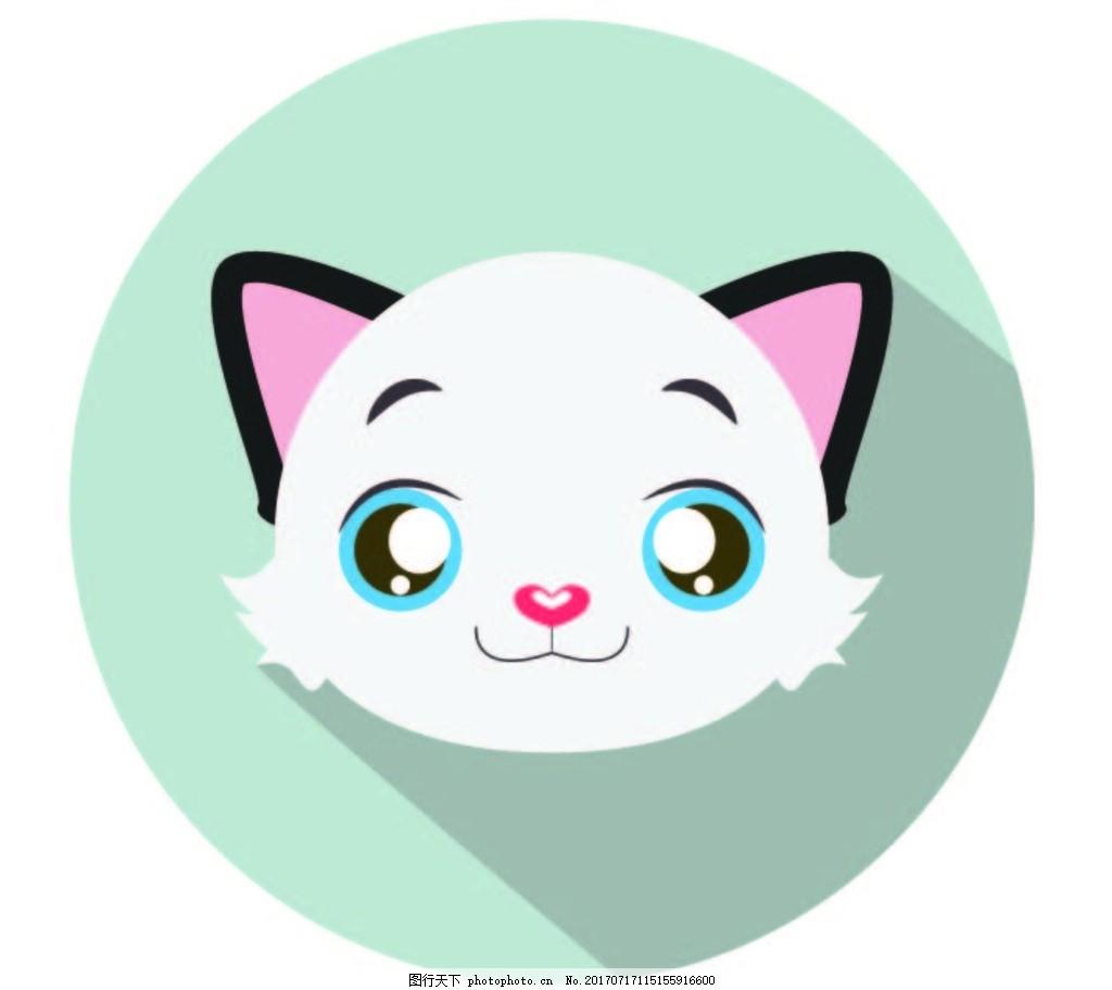 卡通动物 动漫卡通 可爱 贺卡 动物插画 插画 儿童绘本 儿童画画 卡通