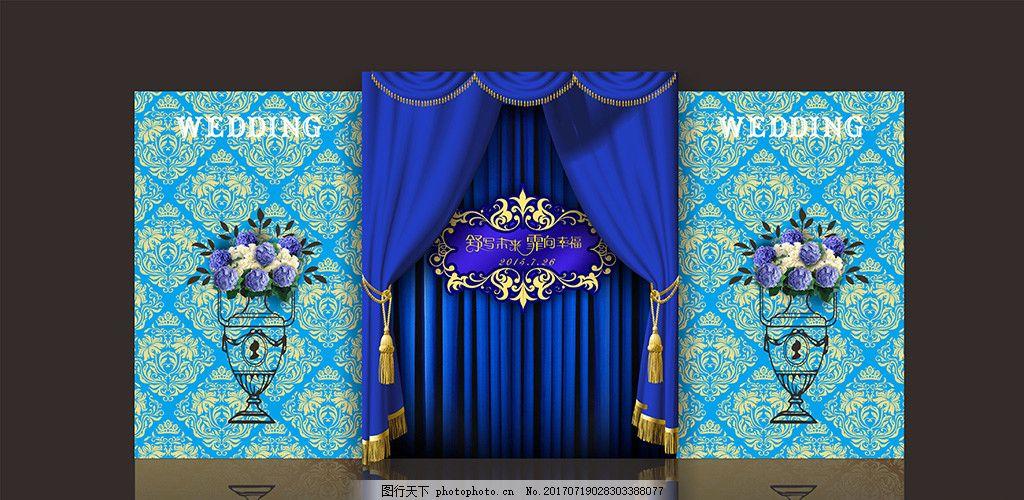 蓝色婚礼 清新婚礼 水蓝色婚礼 欧式蓝色婚礼 主题婚礼 浅蓝色婚礼 宝