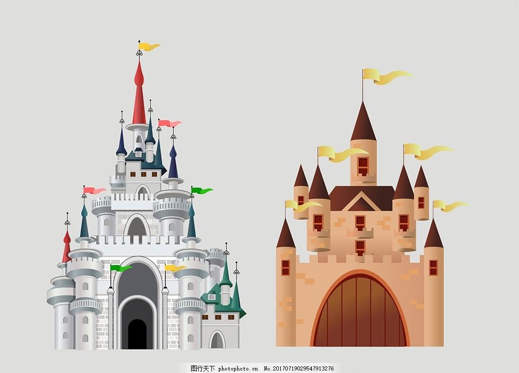 卡通舞台背景 卡通皇宫 城堡婚礼 皇宫婚礼 城堡主题婚礼 欧式主题