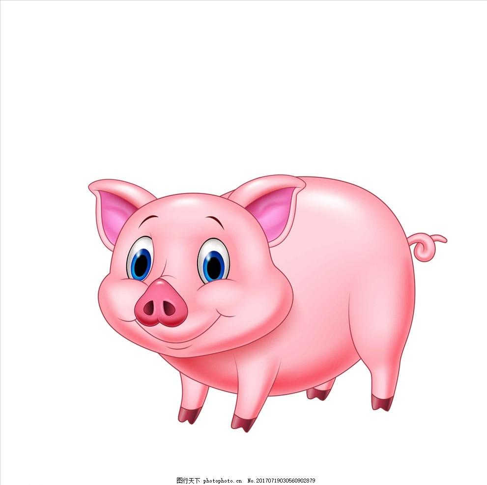 小猪 生肖 猪年 十二生肖 漫画 插画 卡通 卡通小猪 小猪漫画