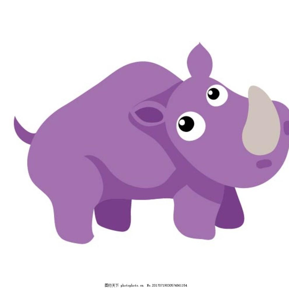 卡通动物 动漫卡通 可爱 贺卡 动物插画 插画 儿童绘本 儿童画画 卡