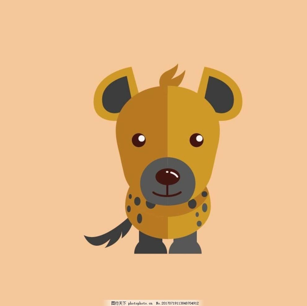 卡通动物 动漫卡通 可爱 贺卡 动物插画 儿童绘本 儿童画画 卡通动物