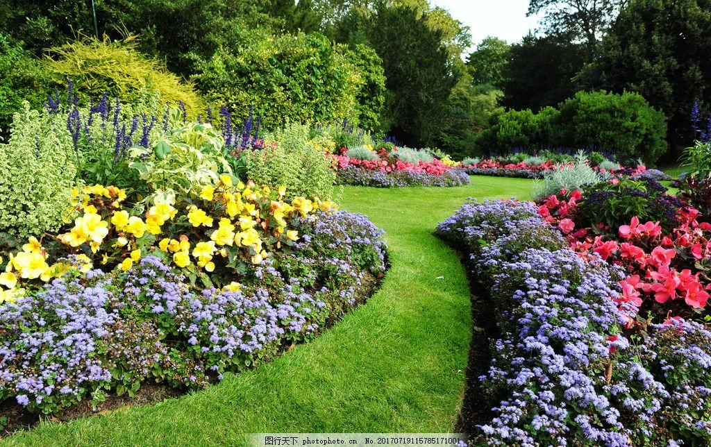 绿色 园林 树木 草坪 欧式 欧洲园林 风景 园林建筑 建筑园林 景观