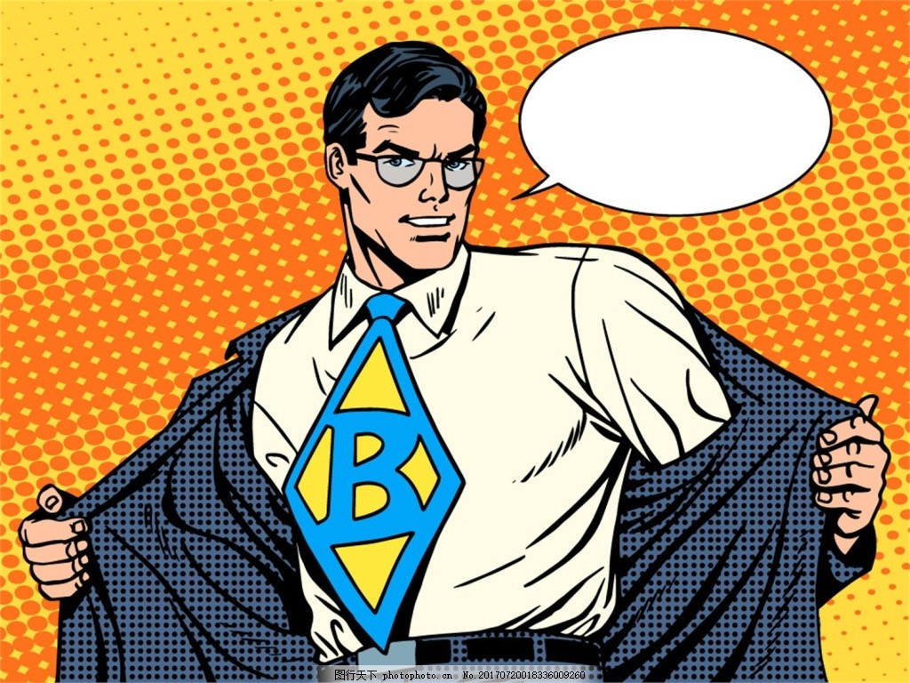 对话框 欧美漫画 卡通 人物 风景 插画 手绘 扁平化 矢量素材