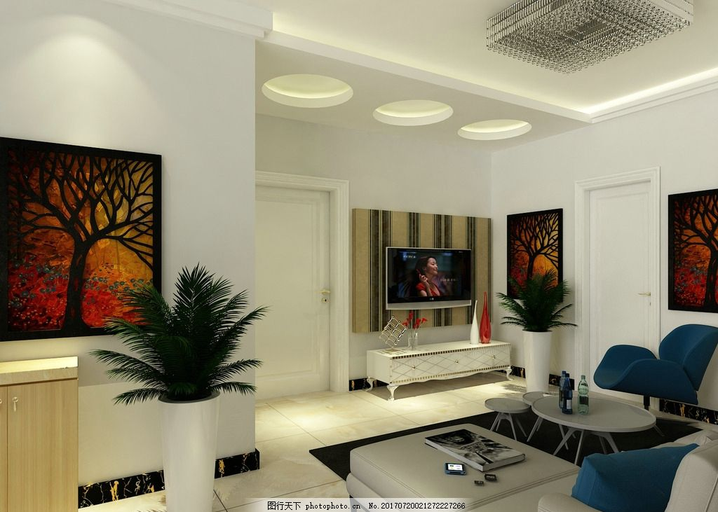 小户型简约客厅 小户型 简约 现代      简单 设计 3d设计 室内模型