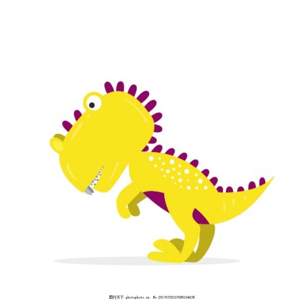 泥工作品恐龙动物