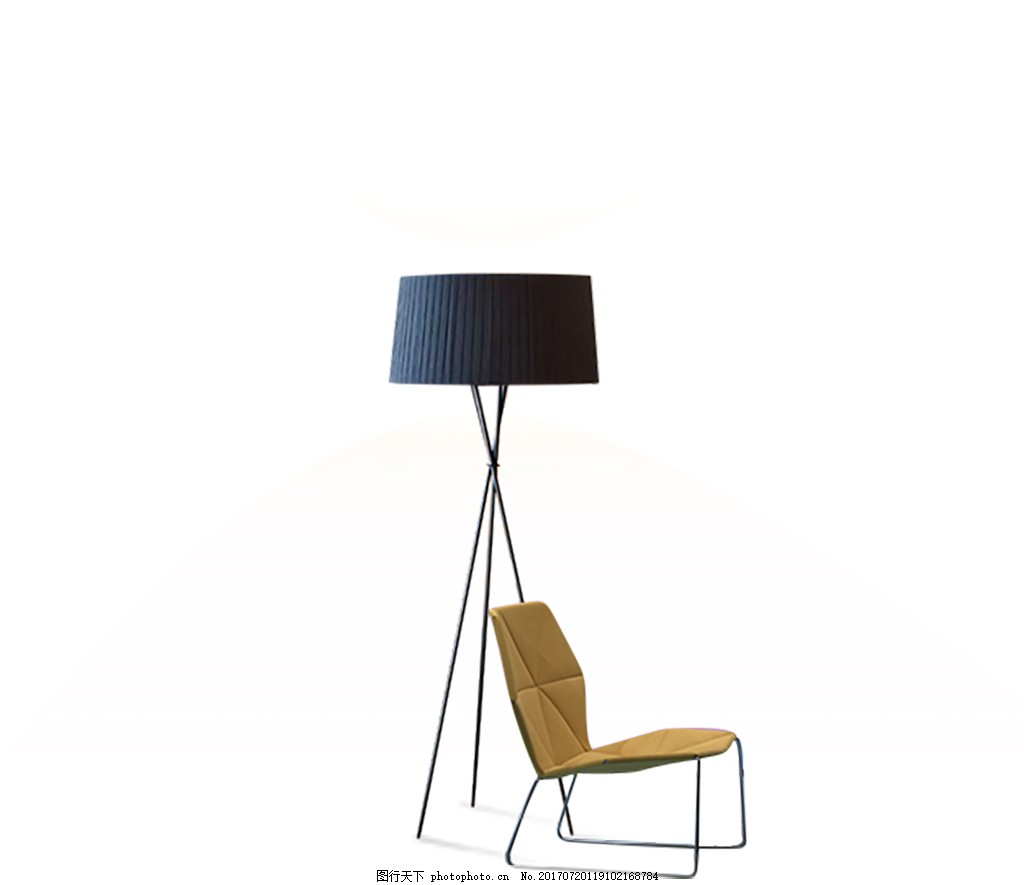 一盏灯一个椅子 灯光 闪光 安静 素雅