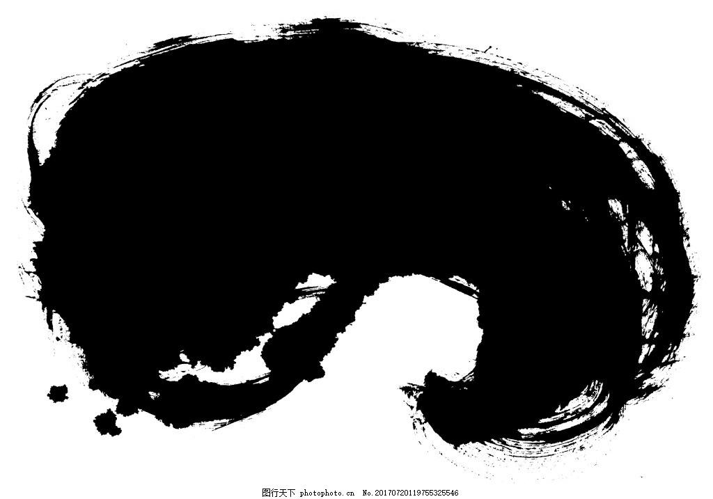 手绘中国风水墨元素