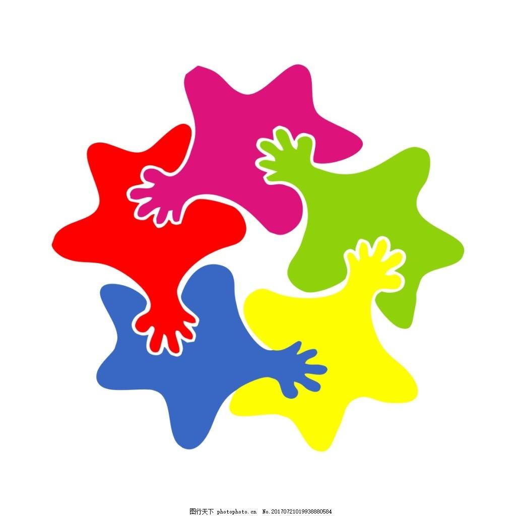 智多星幼儿园logo设计园徽标志标识