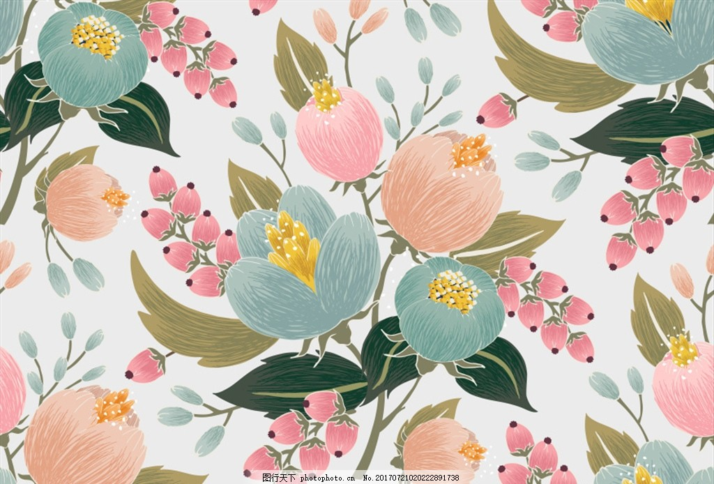 绣球花 水彩手绘 手绘花朵 水彩花朵 清新花朵 婚礼邀请函 婚礼卡片