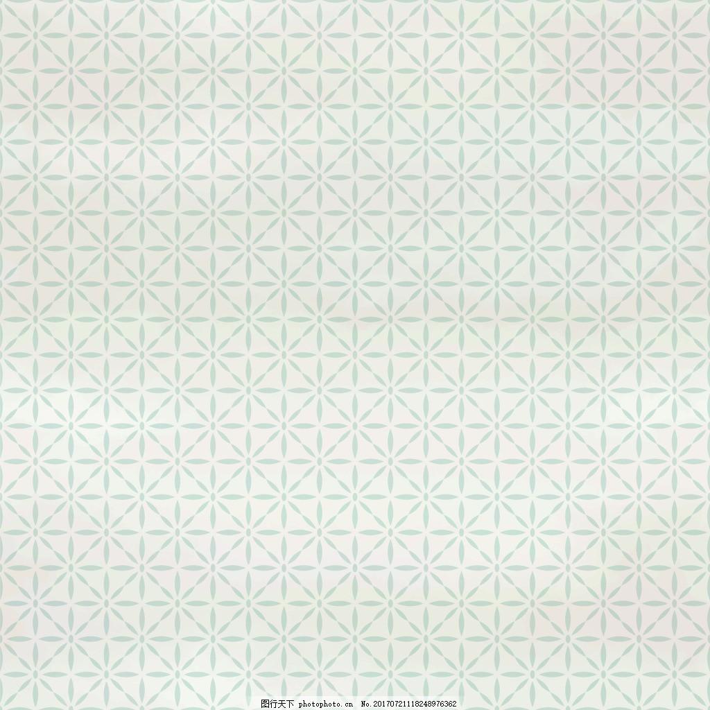 简约十字花纹VI设计矢量 纹理 包装纹理 卡通 设计背景 填充