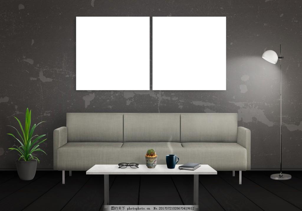 简约欧式风格客厅效果图,儿童房 卧室 小床 椅子 柜子