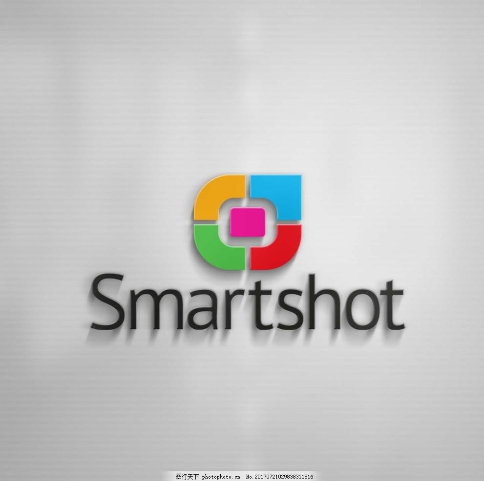 公司形象墙logo效果图贴图 品牌设计 企业形象 品牌形象 标志模板