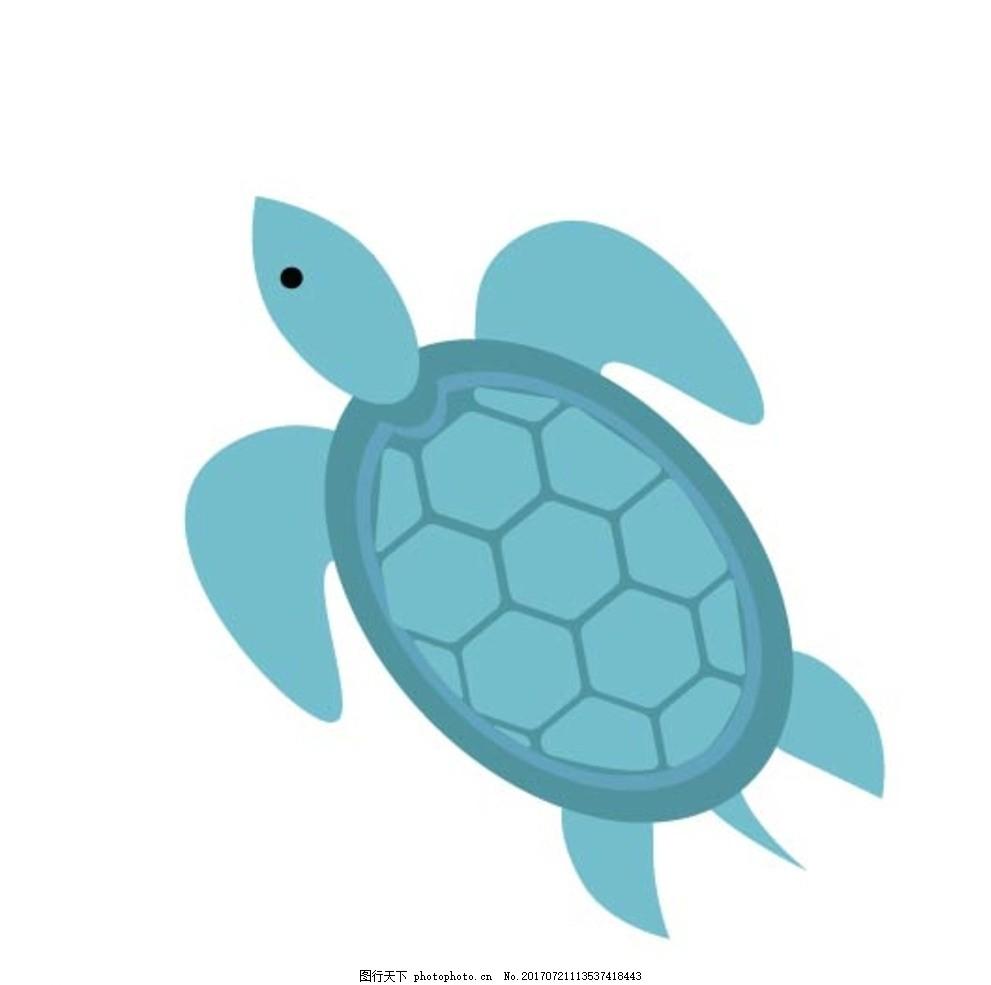 海龟儿童画画画步骤