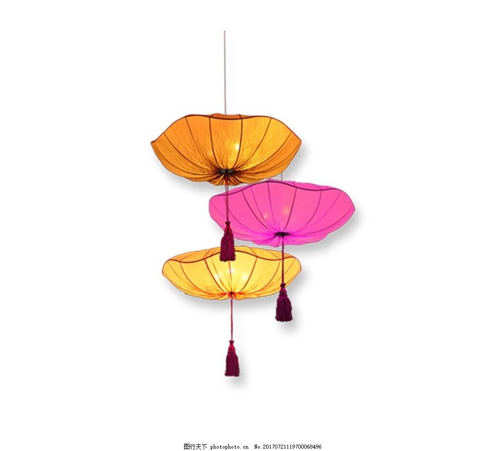 手绘彩色雨伞元素