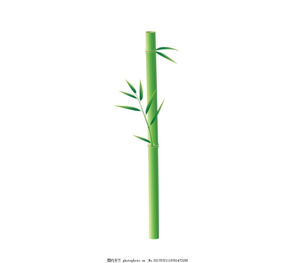 手绘小清新竹子元素 手绘 绿叶 小清新 竹子 竹叶 png 免抠 素材 png