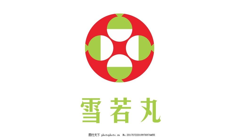 雪若丸LOGO 日本 圆形 大米