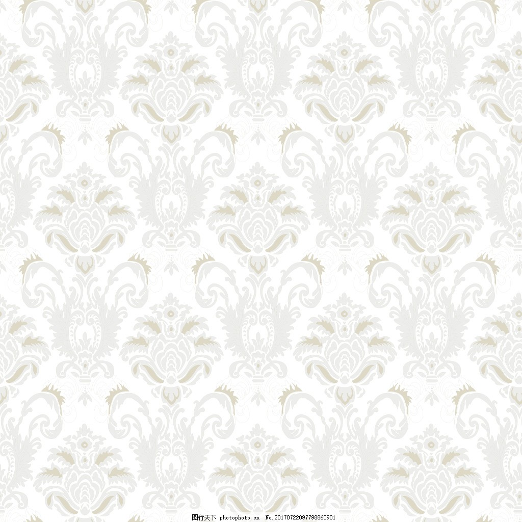 高清欧式花纹壁纸图案墙纸素材