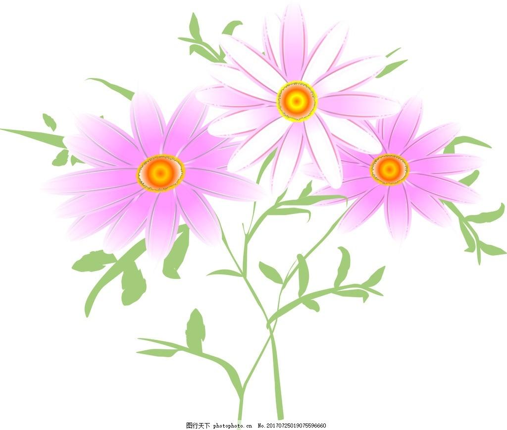 清新手绘花卉