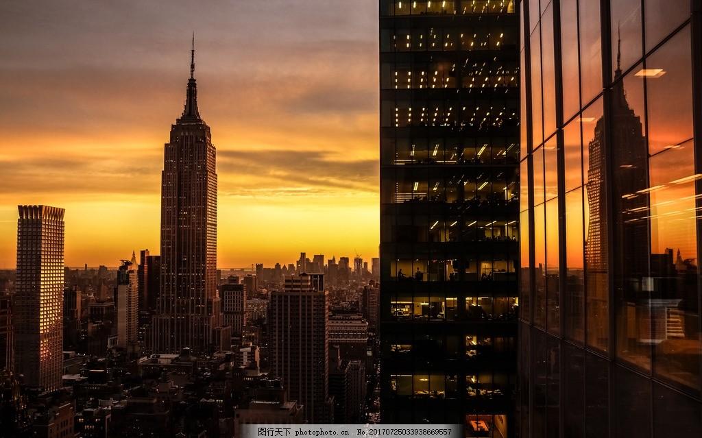 唯美 风景 风光 旅行 人文 城市 美国 纽约 曼哈顿 大都会 繁华 时尚