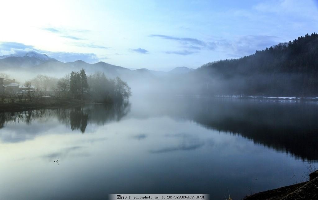 意境山水 山水古韵 水墨 写意 自然风景 摄影