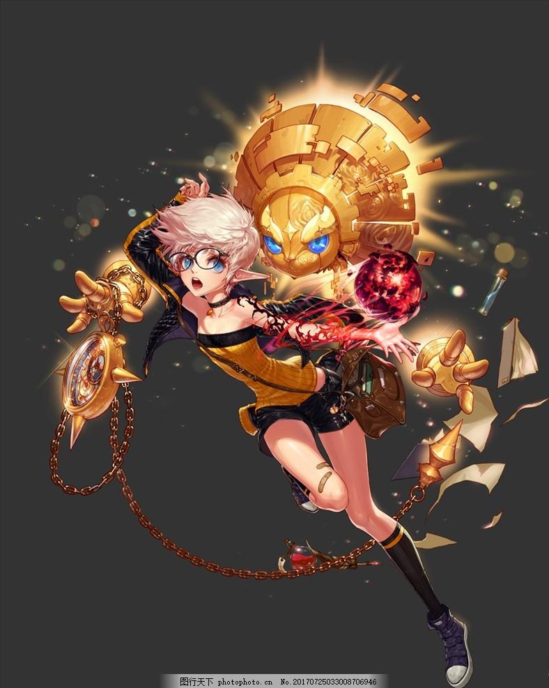 游戏壁纸 游戏场景 网吧海报 酷炫 动漫人物 设计 psd分层素材 psd