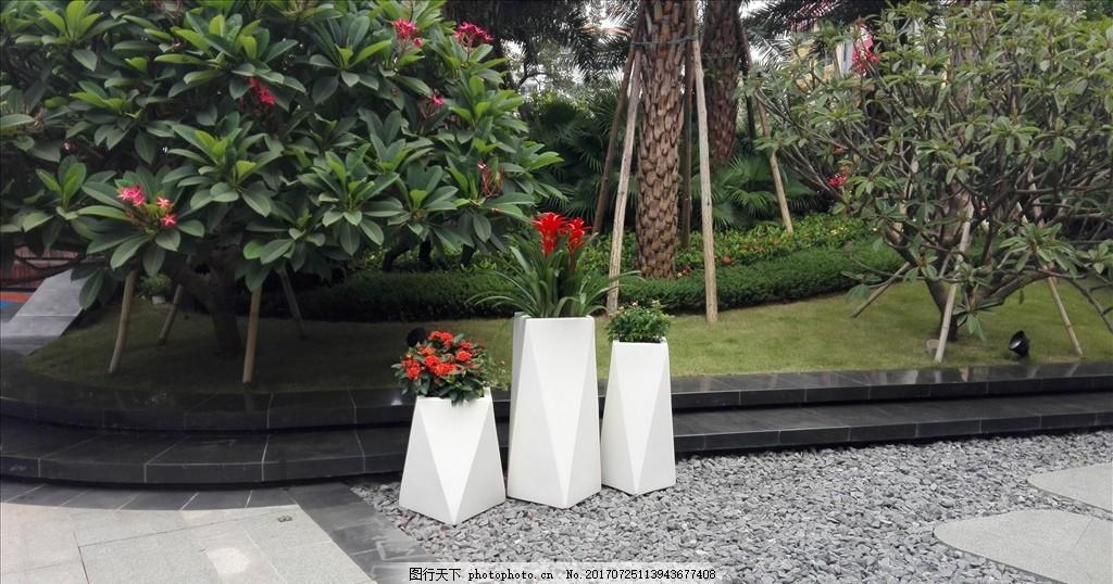 房地产花盆 地产包装 房地产设计 园林包装 看楼通道包装 高档花瓶