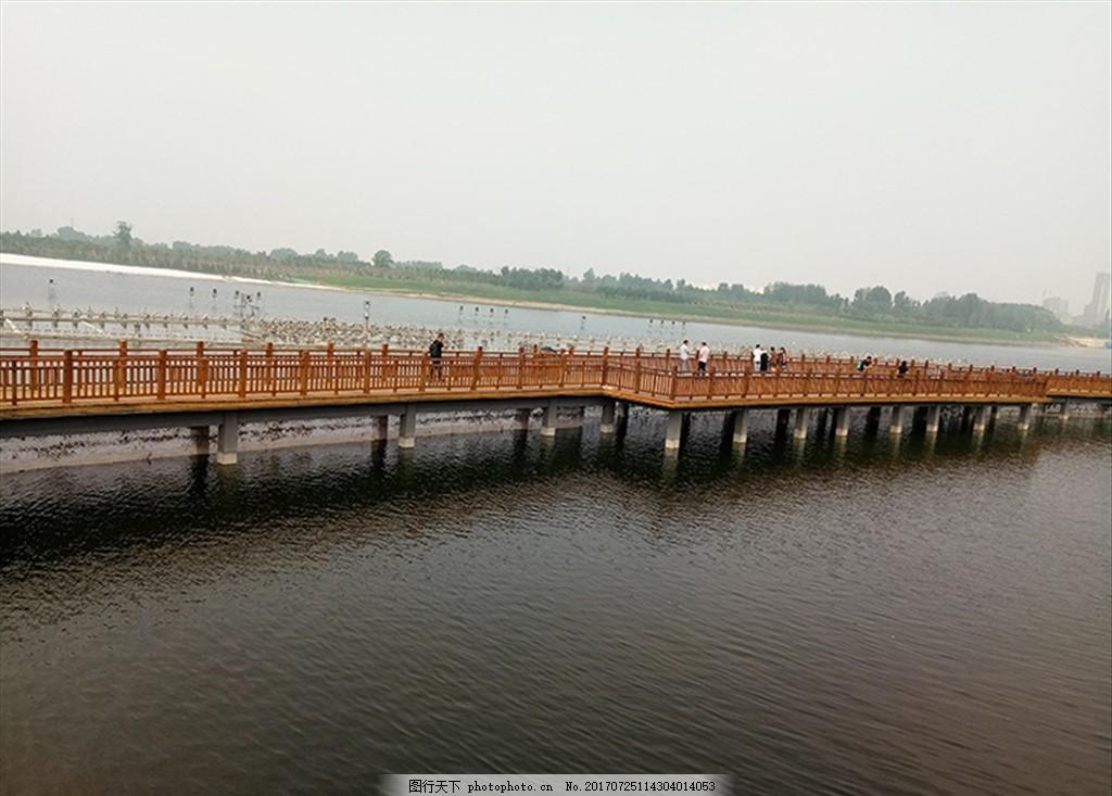 桥 长桥 水和桥 栏杆 围栏 栅栏 护栏 风景摄影 旅游摄影 人文景观