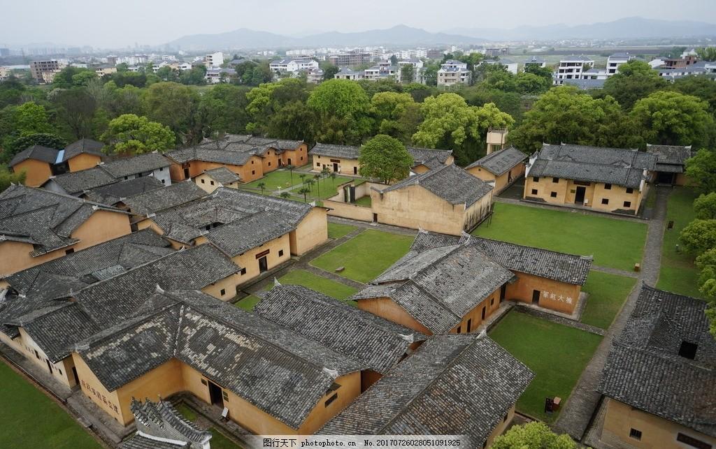 鸟瞰古镇 古建 老房子 老宅 摄影 建筑园林 建筑摄影