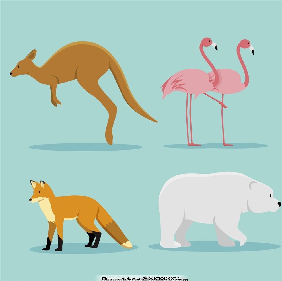 素材 狐狸图案 白领 运动 娃娃 公仔 卡通形象 卡通动物 动物漫画 小