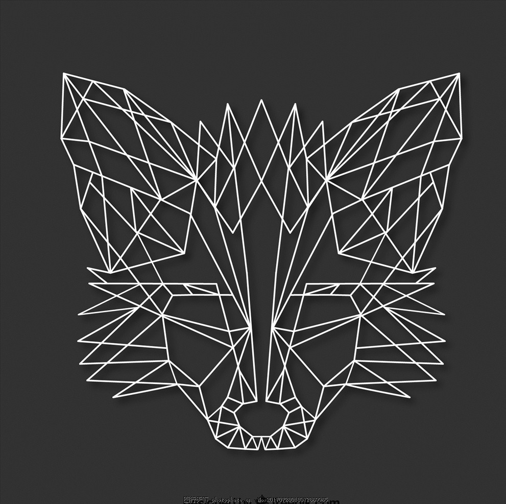 狐狸可爱动漫简笔画