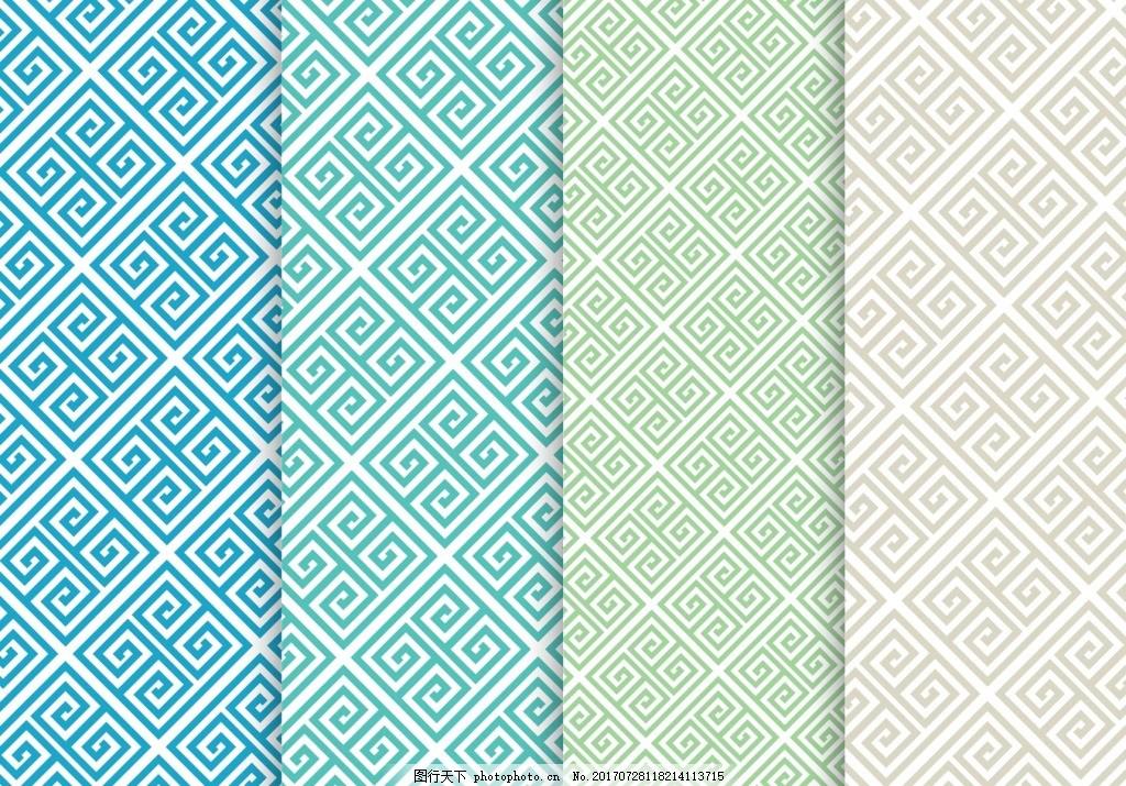 古朴简单纹理图案 背景 大气 海报 画册 简约 界面 时尚 矢量