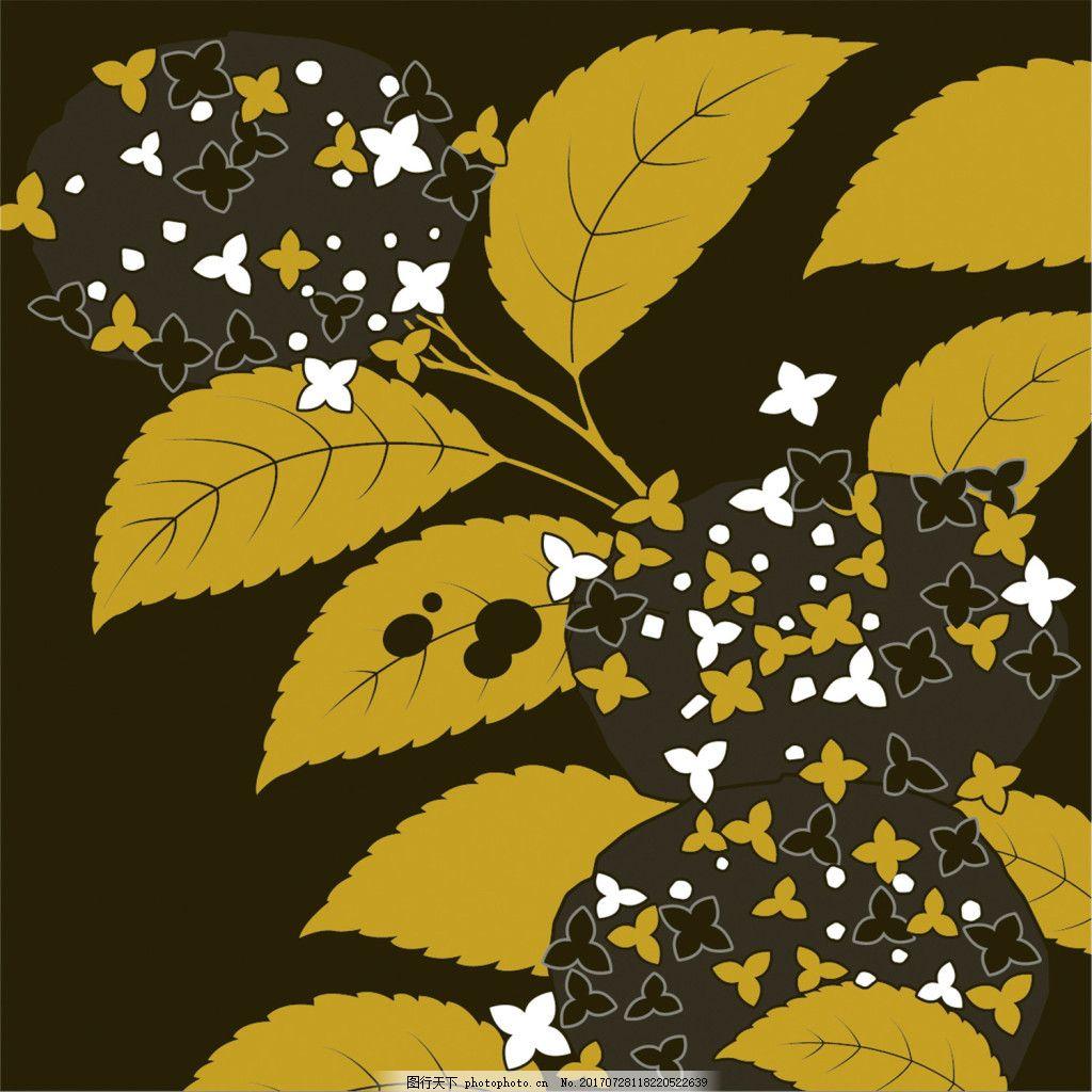 黄色蝴蝶花朵树枝背景图图片 广告设计图片 广告背景图图片 背景图片下载图片 矢量背景图图片