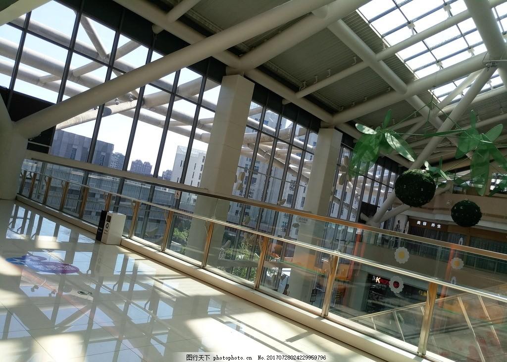 商场内部钢结构 城市商场 娱乐 购物 摄影 建筑景观