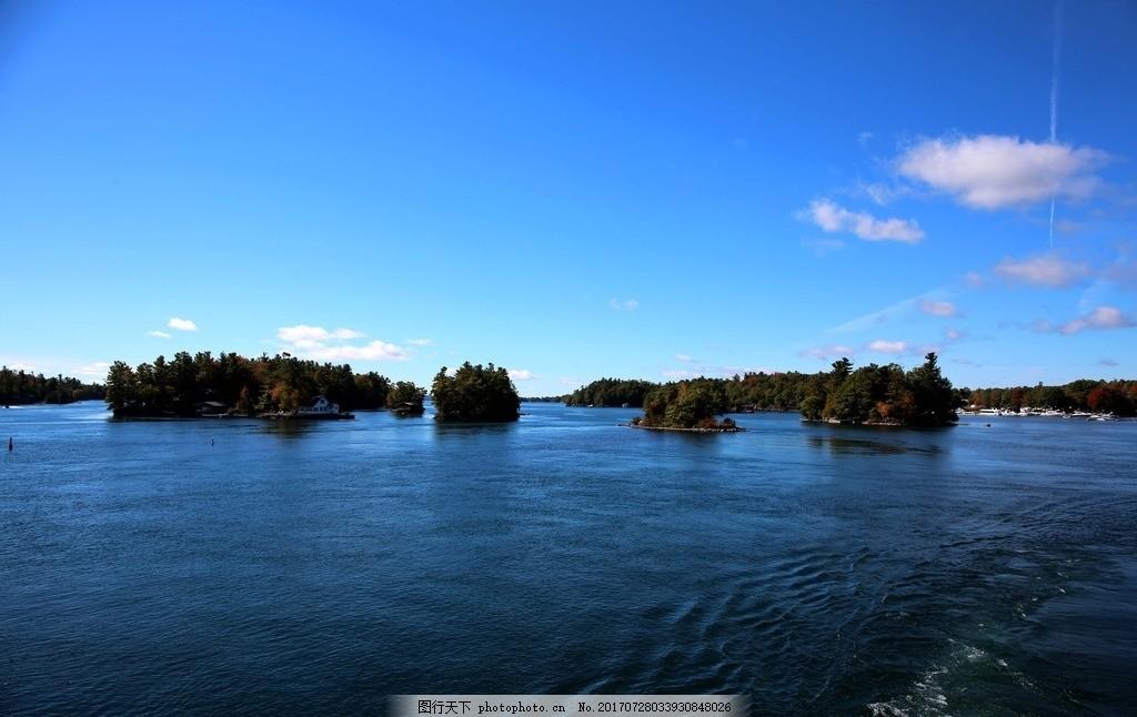 千岛湖 唯美 风景 风光 旅行 自然 加拿大 北美 湖水 湖泊