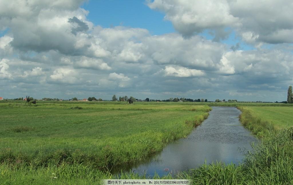 风车村 唯美 风景 风光 旅行 人文 荷兰 浪漫风车 摄影 国外旅游