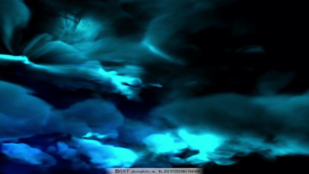 抽象天空视频背景