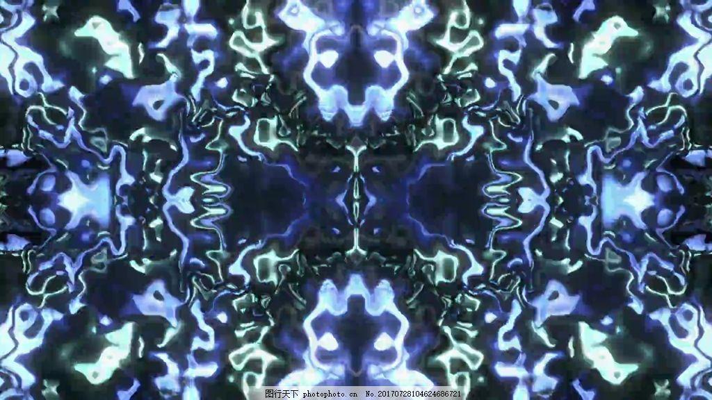 抽象波纹元素视频背景 视频素材 视频模版 波纹视频 抽象背景