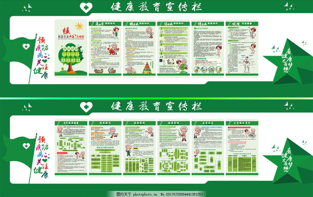 健康知识宣传栏