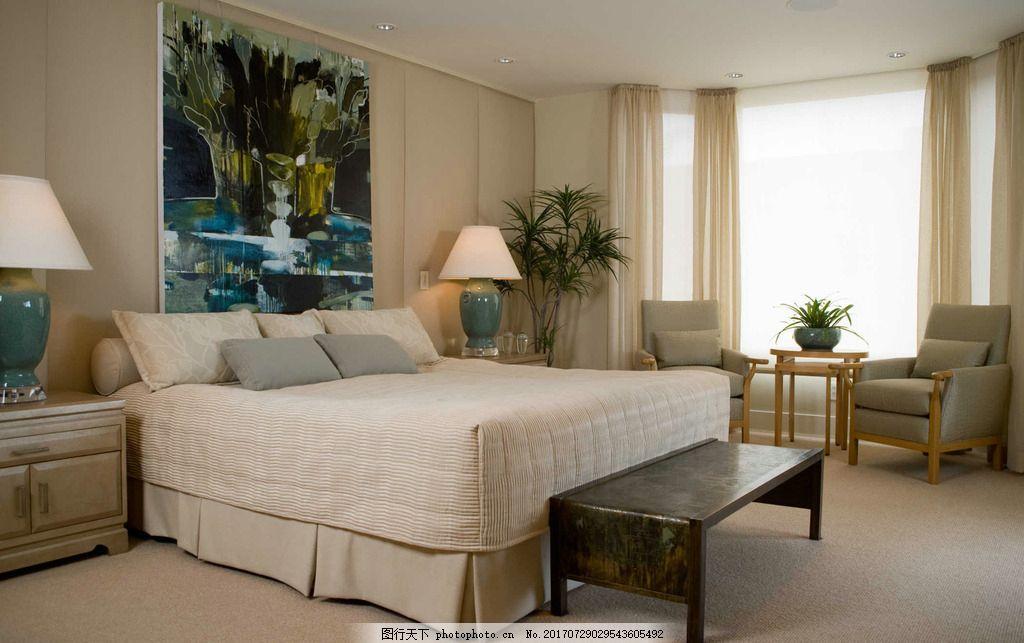 臥房裝修圖 臥室裝飾 地板裝飾 吸頂燈 室內裝修圖 室內設計 家庭室內